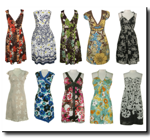 floral clothing