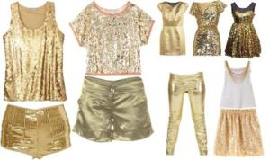 Golden Clothes