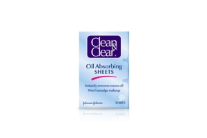 Clean and Clear Oil Absorbing Sheet