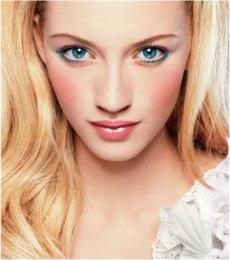 rosy cheekbones