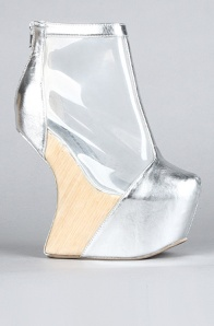 transparent footwear