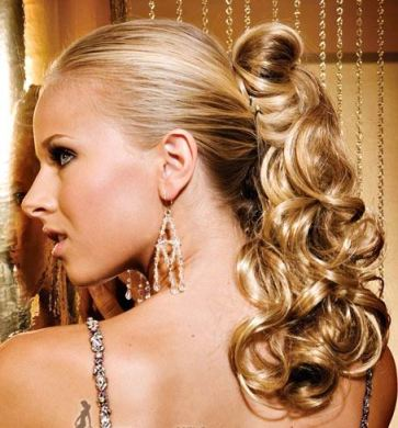 chic ponytail hairstyles